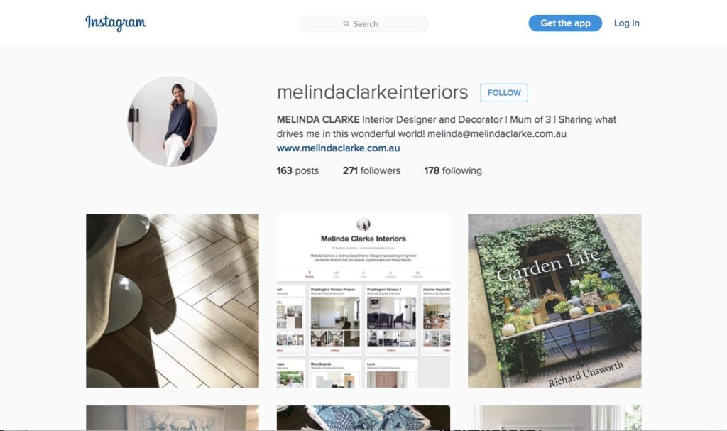 Come follow @melindaclarkeinteriors on instagram