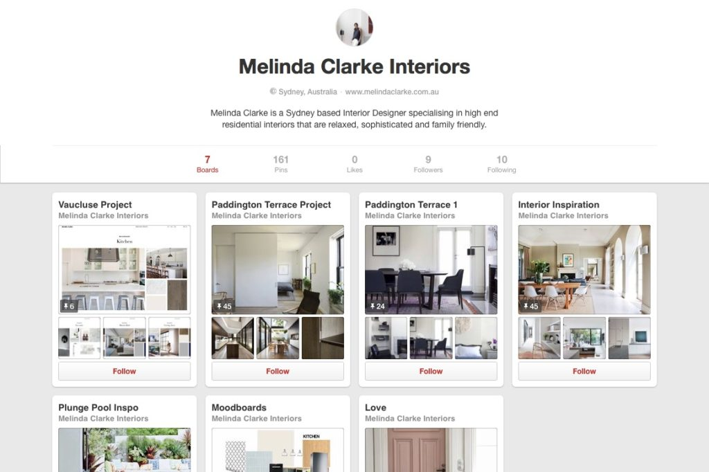 Melinda Clarke now on Pinterest