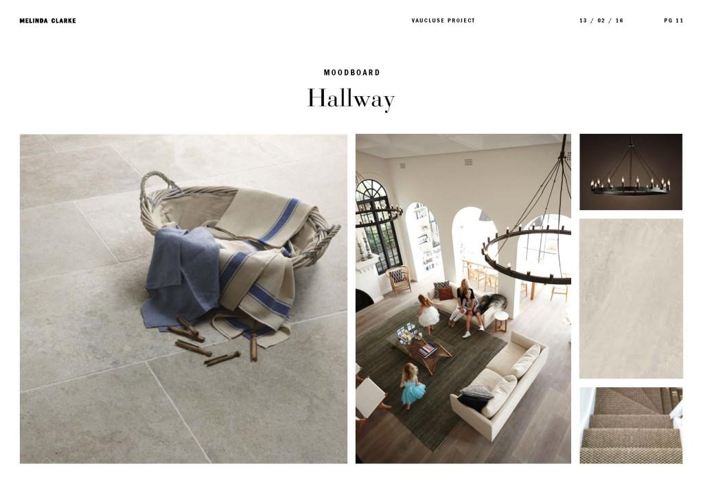 Melinda Clarke Interiors Vaucluse Hallway