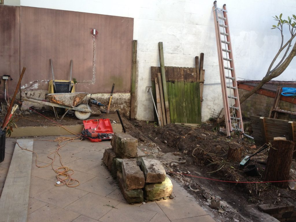 paddington courtyard renovation