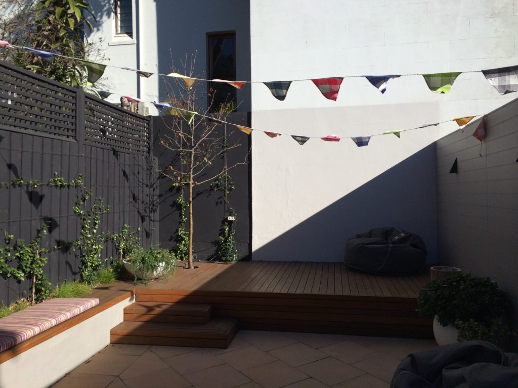 Styling courtyard